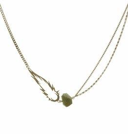 Short necklace comet
