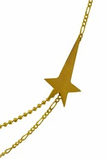 Rebels & Icons Necklace pointing star