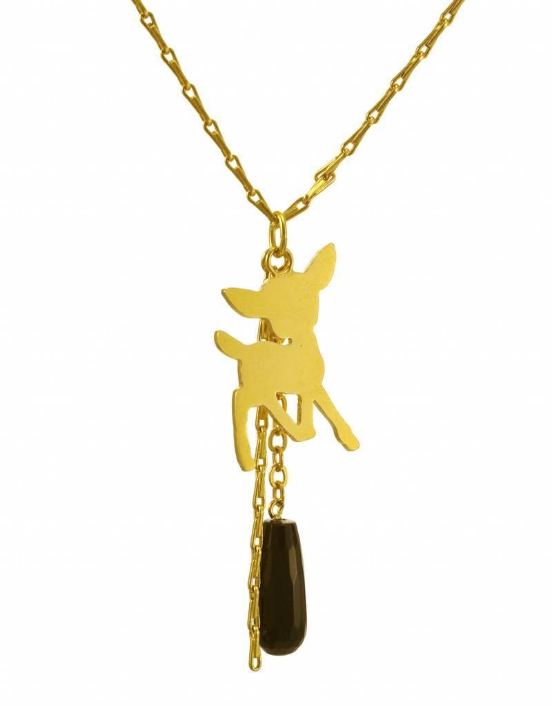 Rebels & Icons Samengestelde ketting bambi