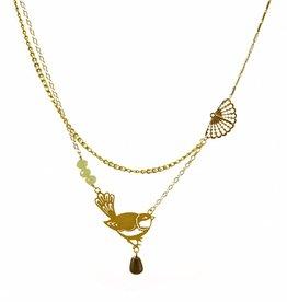Multiple necklace nightingale