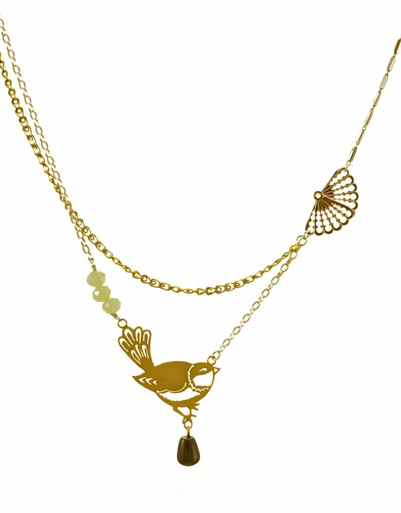 Rebels & Icons Multiple necklace nightingale - mixed