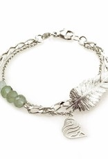Rebels & Icons Bracelet feather