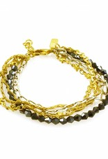 Rebels & Icons Bracelet multiple chains - mixed