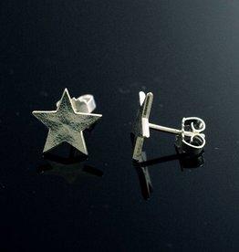 Post earrings star
