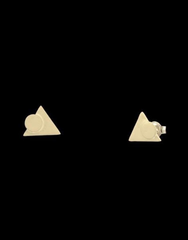 Oorstekers driehoek en cirkel