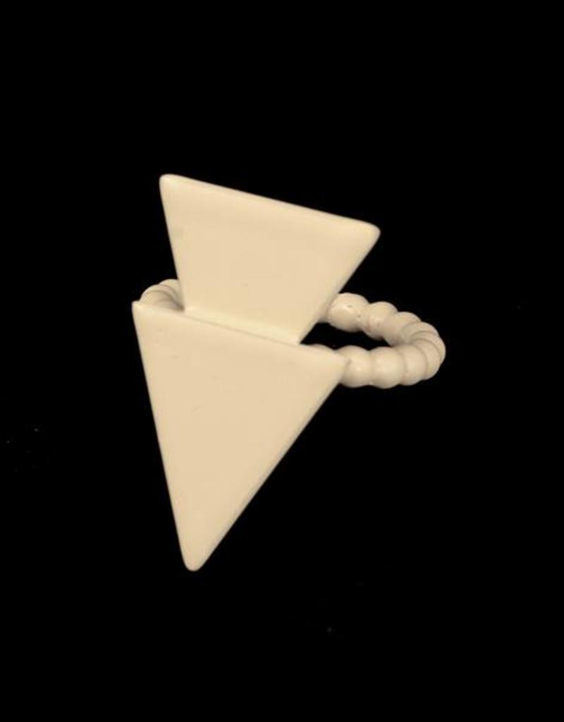 Rebels & Icons Ring 2 driehoeken