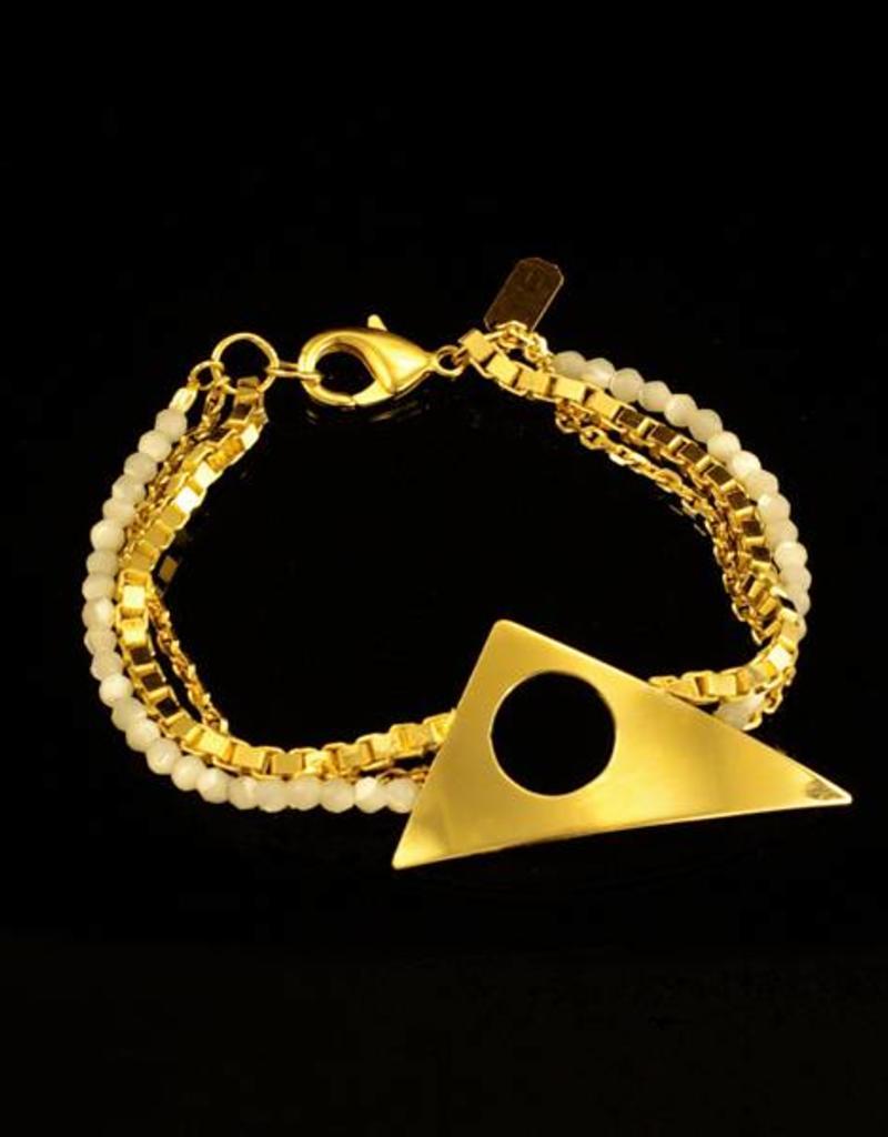 Rebels & Icons Armband Kandinsky - goud