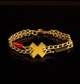 Rebels & Icons Bracelet cross