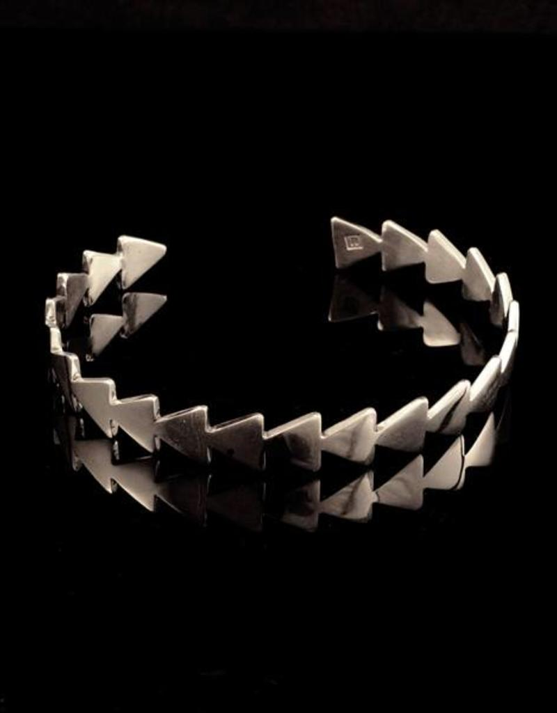 Armband pijlen - zilver
