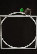 Rebels & Icons Bangle bracelet circle & square - silver