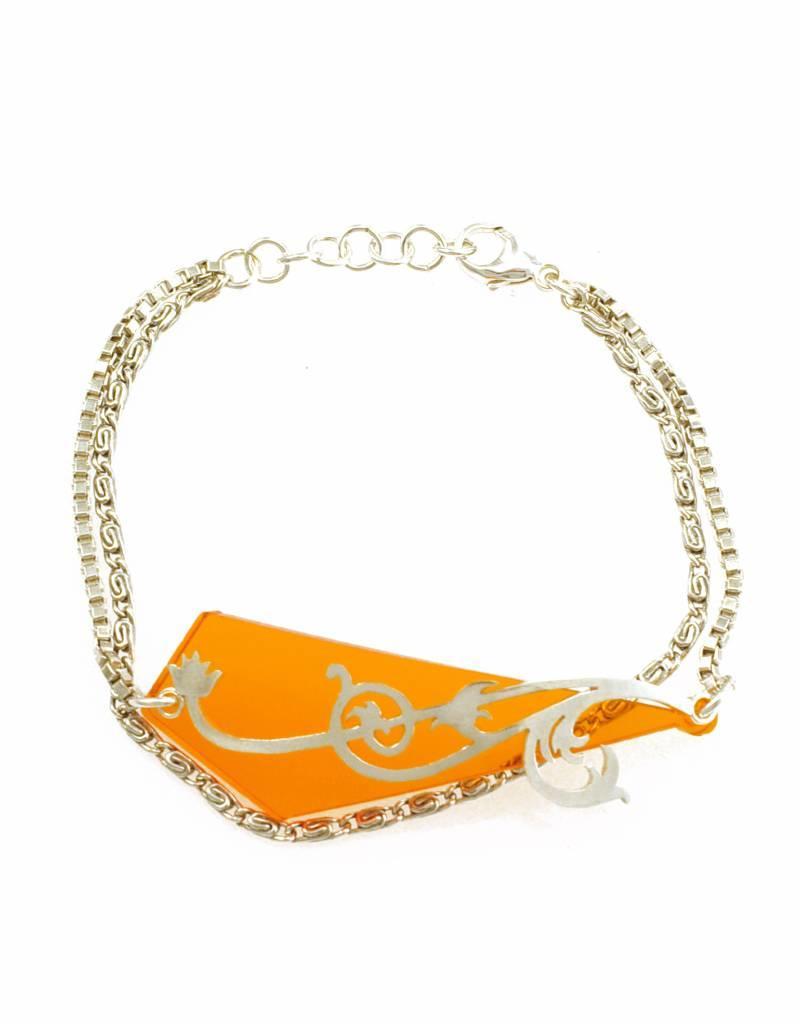 Bracelet whiplash & traingle