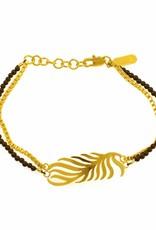 Armband palmblad