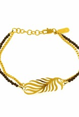 Rebels & Icons Bracelet palm leaf