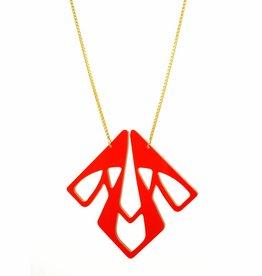 Long necklace square