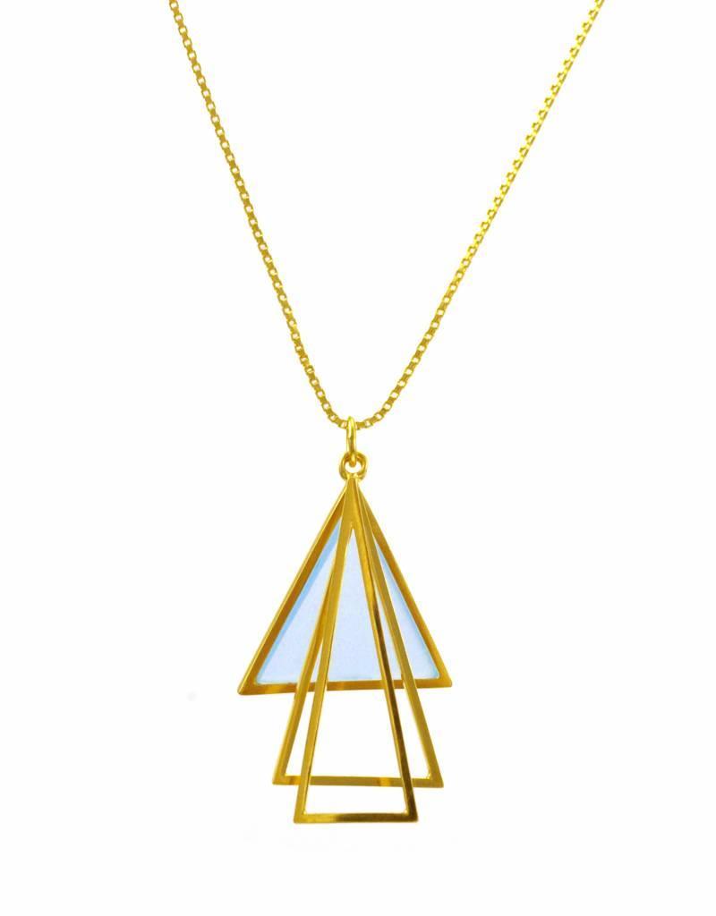 Rebels & Icons Ketting driehoeken