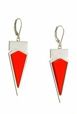 Rebels & Icons Oorbellen driehoek en rechthoek
