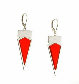 Oorbellen driehoek en rechthoek