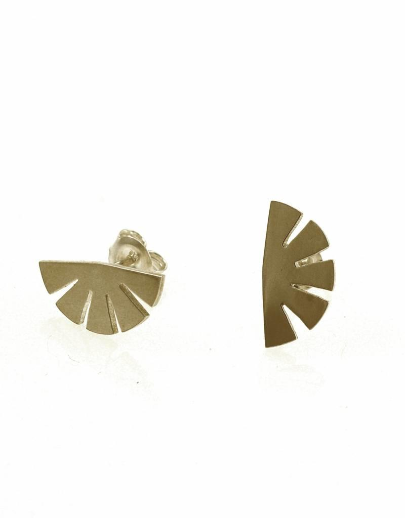 Rebels & Icons Post earrings papyrus