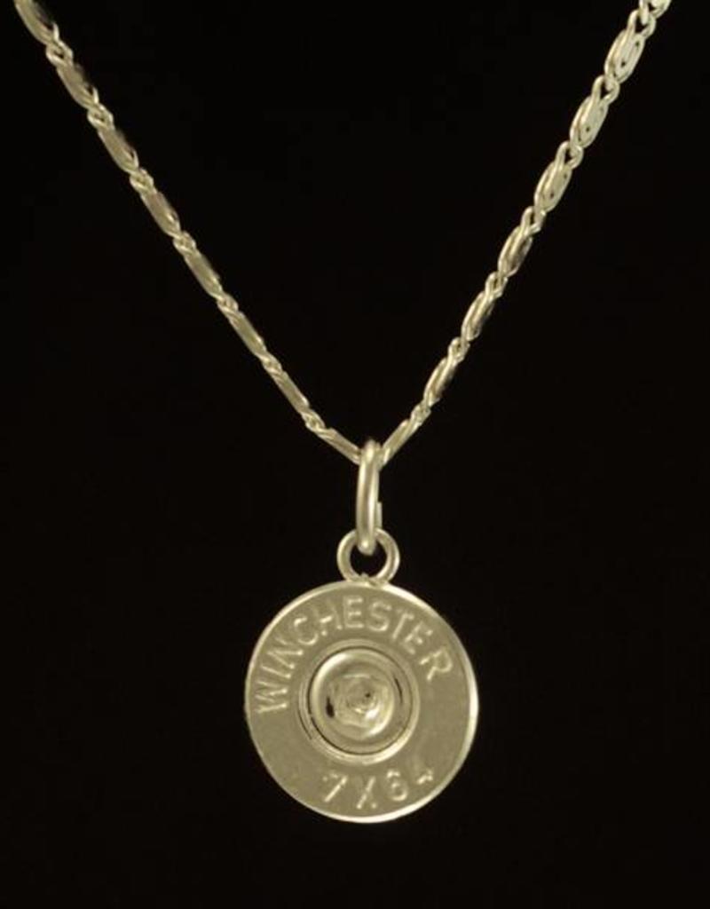 Samengestelde ketting pinup - zilver