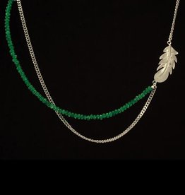 Rebels & Icons Necklace feather
