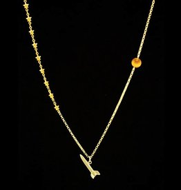 Necklace rocket to Mars