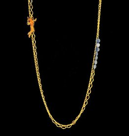 Rebels & Icons Long necklace space girl