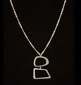 Necklace ellipse & rectangle
