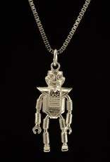 Rebels & Icons Ketting robot - zilver