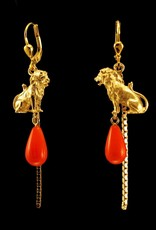 Rebels & Icons Earrings lion & drop