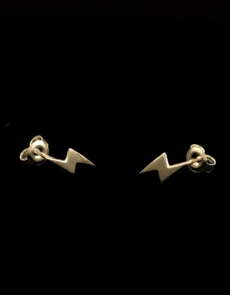 Post earrings  flash