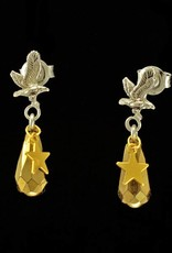 Rebels & Icons Post earrings  eagle and drop