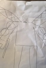 Pendant children's drawing