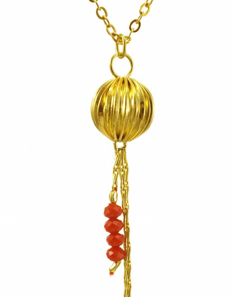 Rebels & Icons Necklace lantern - gold