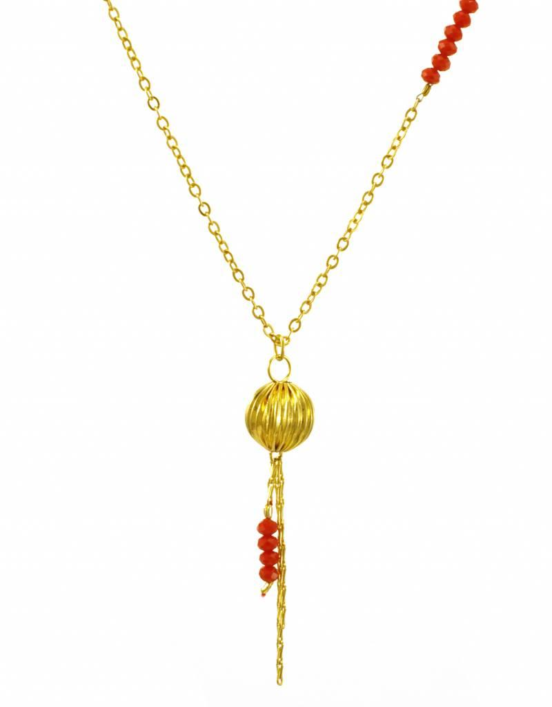 Rebels & Icons Ketting lampion - goud