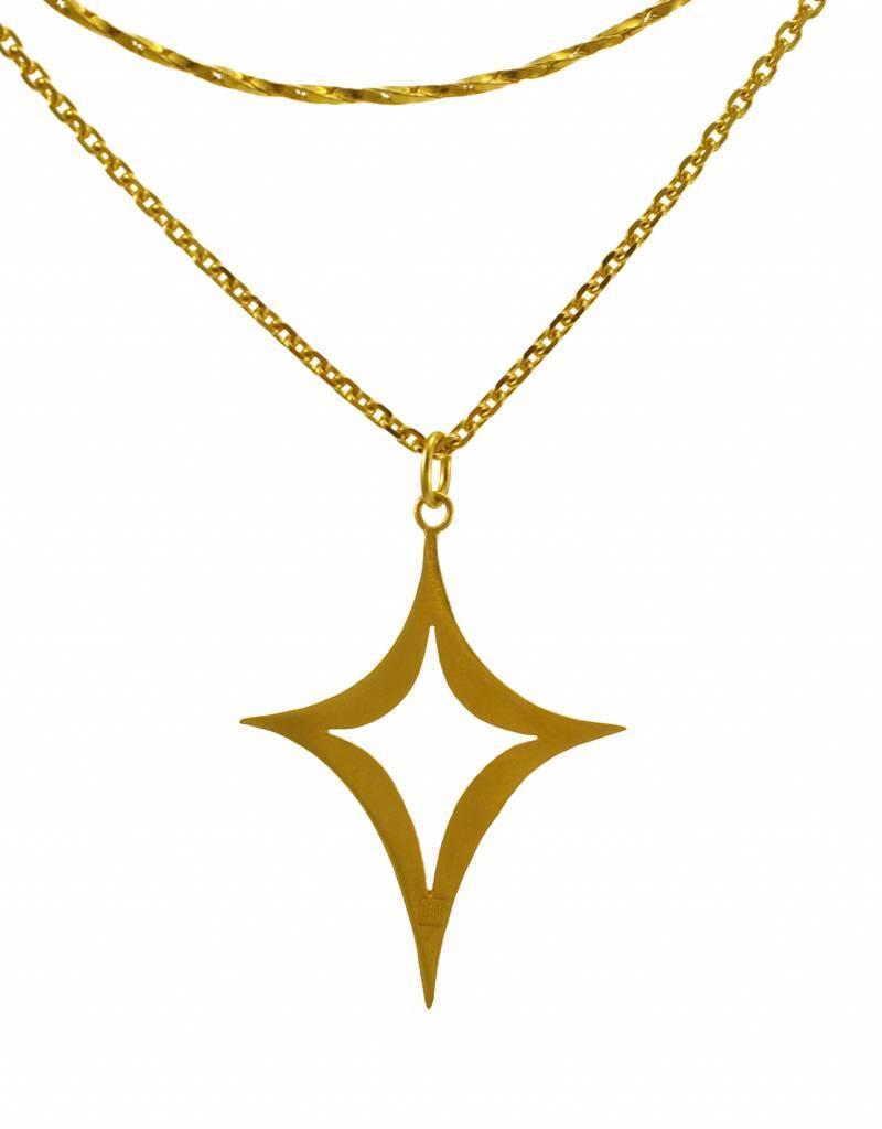 Samengestelde ketting diamantvorm