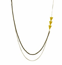 Rebels & Icons Long necklace arrows