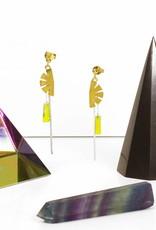 Rebels & Icons Post earrings pendant papyrus
