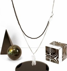 Rebels & Icons Multiple necklace palm leaf