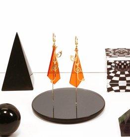 Rebels & Icons oorbellen zweepslag & driehoek