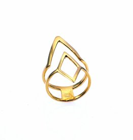 Rebels & Icons Ring diamond & V-shape