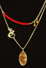 Rebels & Icons Necklace cherry blossoms