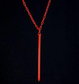Long necklace nail