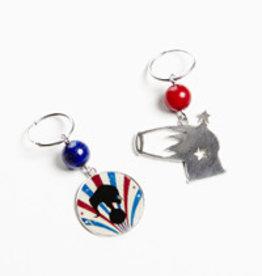 Rebels & Icons Hoop earrings cannon