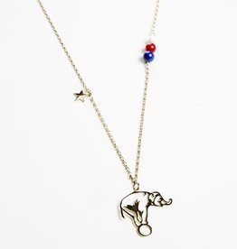 Ketting olifant outline