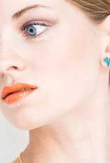 Rebels & Icons Post earrings cactus
