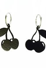 Rebels & Icons Hoop earrings cherries