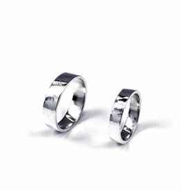 Rebels & Icons Wedding ring 'rough'