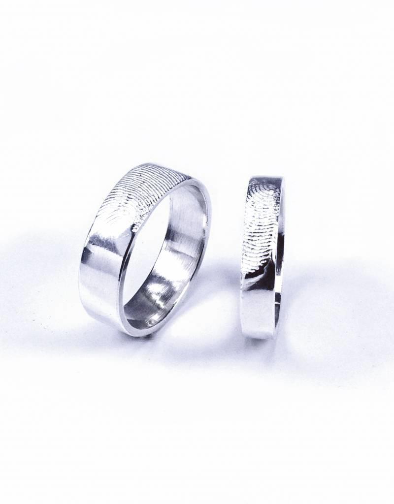 Rebels & Icons Wedding ring 'fingerprint'