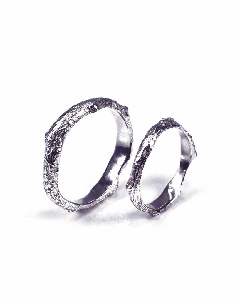 Rebels & Icons Wedding ring 'bark'