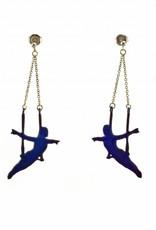 Rebels & Icons Post earrings pendant trapeze artist